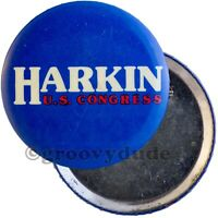 "Early Tom Harkin For Congress Iowa Political Campaign 2-1/4"" Pin Pinback Button"