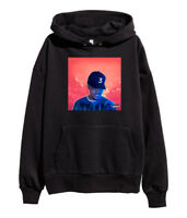 Chance The Rapper Coloring Book Hoodie Hip Hop Acid Rap Sweatshirt merch Black