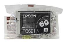 Epson 69 T0691 Black Ink Cartridge T069120 Genuine New Open Box