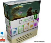 LIBRE OFFICE SUITE PRO 2020 CD for Microsoft Windows 4 Home Student & Business