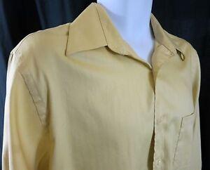 Geoffrey Beene long sleeve men shirt wrinkle free 16 32/33 cotton blend