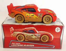 Disney Pixar Cars DIRT TRACK LIGHTNING McQUEEN Very Rare UK !!