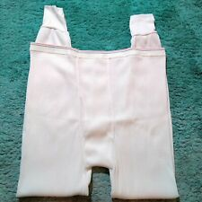 Vintage Unbranded Long Underwear Pants 50/50 Mens 5Xl 58-60 Usa Red White Blue