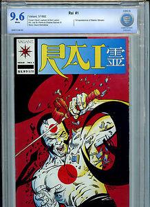 Rai Issue #1 Comic CBCS 9.6 NM+ 1992 Valiant Comics  Amricons B3