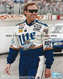 RUSTY WALLACE MILLER LITE BEER PENSKE FORD NASCAR WINSTON CUP 8 X 10 PHOTO #06