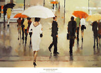 36x26 ART PRINT - My Complex Heart by Lorraine Christie - Scenic Umbrella Poster
