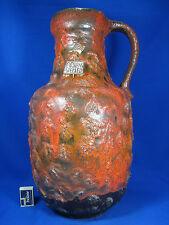 60´s Carstens Atelier Keramik G. Heuckeroth Design Vase stunning glaze 0325-50