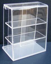1:12 Scale Acetate Counter Display Unit With A Flat Top Dolls House Miniature