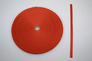 "Webbing - 1/2"" x 16 ft - Light Weight Nylon - Burnt Orange (H66)"