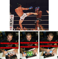 """MAURICIO """"SHOGUN"""" RUA signed Autographed """"PRIDE"""" 8X10 PHOTO f PROOF - UFC COA"""
