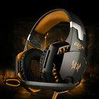 For PC PS4 3.5mm Gaming Headset Xbox one Headphone with RGB Surround Sound Mic