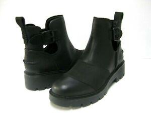 UGG STOCKTON WATERPROOF WOMEN BOOTS LEATHER BLACK US 9 /UK 7 /EU 40