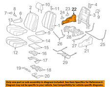TOYOTA OEM 15-18 Sienna Second Row Seats-Recline Cover Right 7180108011C0