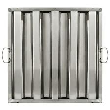 """Winco Hfs-2020 20"""" Height x 20"""" Width Stainless Steel Hood Filter"""