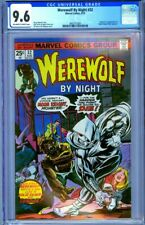 CGC 9.6 WEREWOLF BY NIGHT #32 OW/WHITE PAGES 1ST APPEARANCE MOON KNIGHT