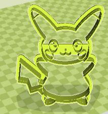 3D Impresos Adorables Pikachu Pokemon Cortador De Galletas