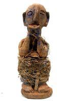 Arte Africano Arti Primo - Antico Scimmia Di Protezione Fon - Benin - 25 CMS