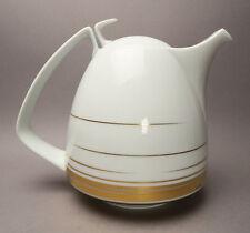 SELTEN Rosenthal Tac Dynamic Gold Gropius Bauhaus Fritsch Kaffee Kanne ca. 1,5 l