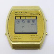 Orologio Bulova 1884101 multi function digital watch vintage clock bulova montre