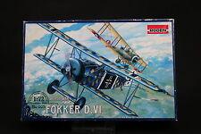 XS164 RODEN 1/72 maquette avion 007 Fokker D.VI WWI ancienne version