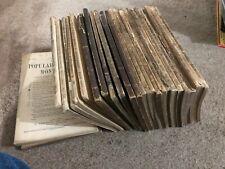LOT OF 28  1870s POPULAR SCIENCE magazines