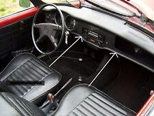VW KARMANN GHIA NEW KICK PAD, 2-PIECE LOWER DASH 1972-1974 COUPE/CONVERTIBLE!!!!