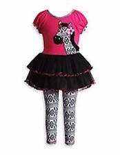 SWEET HEART ROSE® Baby Girls' 18M Zebra Tutu Dress & Legging Set NWT