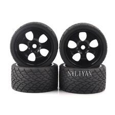 4PCS Set Wheels Tires& Rims 17mm Hex For 1:8 RC Model Bigfoot On-Road Car 26411