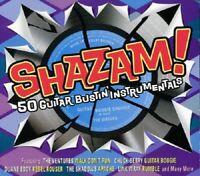 Shazam! 50 Guitar Bustin' Instrumentals 2-CD NEW SEALED Champs/Fireballs/Virtues