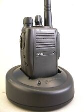 MINT Motorola EX500 UHF 16ch Radio w/New Accessories