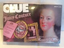 New Clue JUICY COUTURE Board Game w/ Collectible Charms FACTORY SEALED