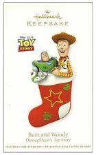 2011 Hallmark Disney Pixar Toy Story Buzz and Woody Ornament!