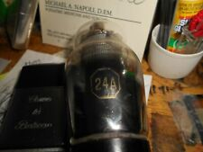24A Tube, Tested Good On A Hickok. 24a has no substitute