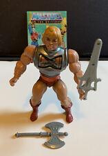 Masters of the Universe (HE MAN Battle Armor) Vintage MOTU 1983 soft head