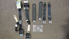 74 81 Pontiac Firebird Trans Am Front & Rear GM SEAT BELTS Full Set 1974-1981