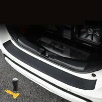 4D Carbon Fiber Car Rear Guard Bumper Cover Sticker Panel Protector Accessories