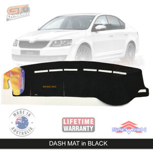 Dash mat SKODA Octavia MK3 NE RS 162Si 110TSi Ambition 1/2013-19 BLACK DM1373