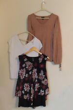 Women's Clothing Lot Shirts Size Large Business Fancy Alfani Worthington Talbots