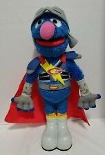 "Sesame Street 15"" FLYING SUPER GROVER 2.0 Talking Plush Figure by Hasbro"