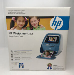 HP Photosmart A826 Home Photo Center New Sealed