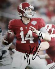 Jake Coker Alabama Hand Signed 8x10 Autographed Photo w COA
