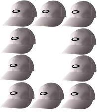 10 x OAKLEY STITCH CAPS  SIZE  S/M  STRETCH FIT WHITE  NEW