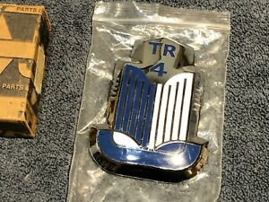 Triumph TR4 Hood Bonnet Badge Book Medallion