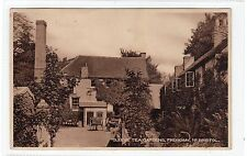 CLEEVE TEA GARDENS, FRENCHAY: Bristol postcard (C25636)