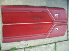 78 79 1980 OLDSMOBILE CUTLASS SUPREME UPPER DOOR PANELS GM G BODY CALAIS