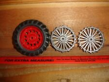 1/16 - Two Detailed Steel Rims
