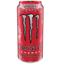 Monster Ultra Red Zero Energy Getränke-dose 24 X 500 Ml