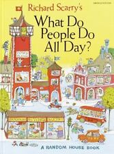 Richard Scarry's What Do People Do All Day? c1968, later printing VGC Hardcover