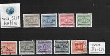 WC1_9225. IT. COL.:ERITREA. 1934 postage due set short. Scott J15-J23. MH/Used