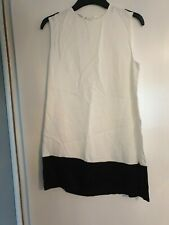 Mango Suit Collection Top ORO  White with Black Trim uk Size S BNWT